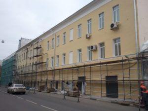 Ремонт оштукатуренных фасадов